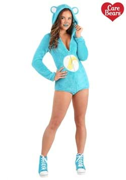 Women's Wish Bear Romper Costume