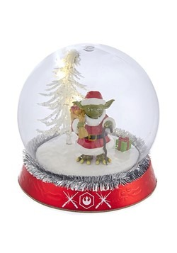 Yoda LED Light Up Globe Tablepiece