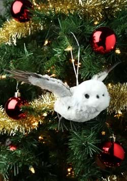 Gray Flying Owl Ornament