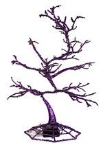 """14"""" Halloween Purple LED Tree Alt 2"""