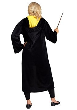 Adult Harry Potter Deluxe Hufflepuff Robe Costume2