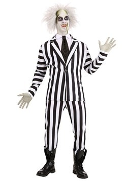 Beetlejuice Plus Size Men's Costume