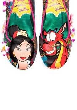 Irregular Choice Disney Princess Mulan Let Dreams Blossom 4