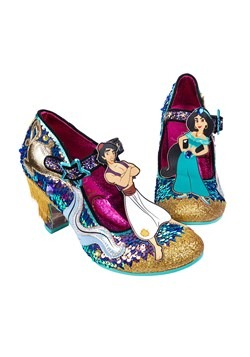 Irregular Choice Disney Princess- 'A Whole New World' Heels