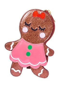 Irregular Choice Gingerbread Figure Purse