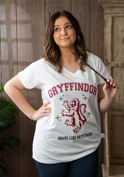 Gryffindor Juniors Plus V-neck Tee