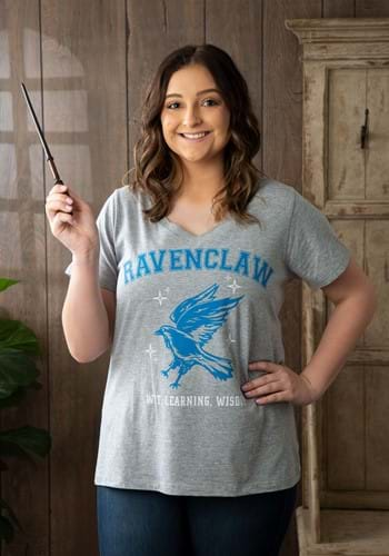 Ravenclaw Juniors Plus V-neck Tee