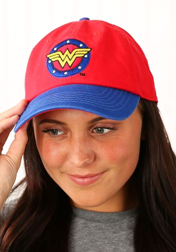 Wonder Woman Color Block Baseball Cap