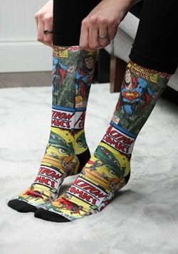 Action Comics Superman Sublimated Socks