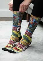 Action Comics Superman Sublimated Socks