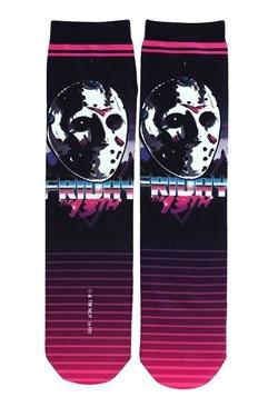 Friday the 13th Jason 80's Neon Sublimated Socks