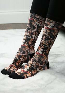 Gremlins Gizmo Collage Sublimated Socks