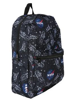 NASA Astronaut Space Print Backpack Alt 1
