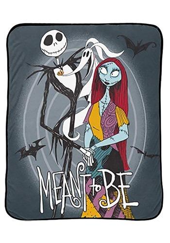 Nightmare Before Christmas Jack and Sally Blanket