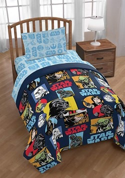 STAR WARS GALACTIC GRID TWIN BED IN A BAG Alt 4