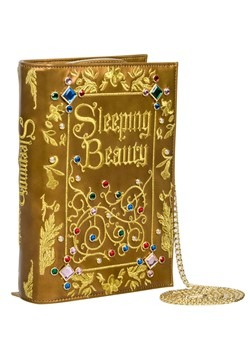 Danielle Nicole Sleeping Beauty Book Clutch Bag