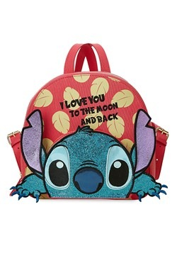 Danielle Nicole Lilo & Stitch I Love You Backpack