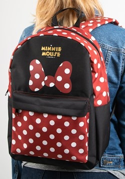 Minnie Mouse Sublimated Panel Print Backpack Alt 1