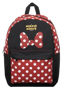 Minnie Mouse Sublimated Panel Print Backpack Alt 2