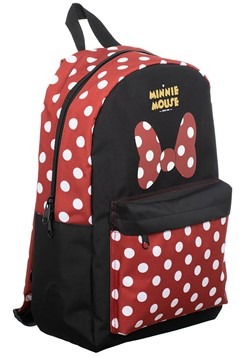 Minnie Mouse Sublimated Panel Print Backpack Alt 3