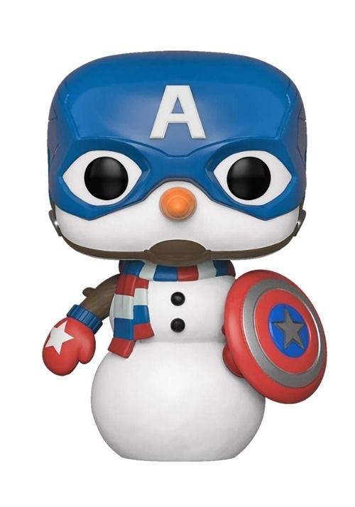 Pop! Marvel: Holiday- Captain America