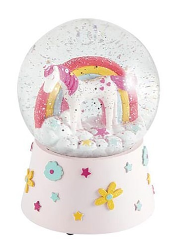 Musical Unicorn Snow Globe