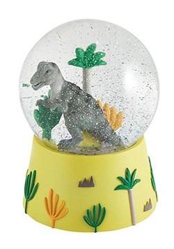 Musical Dinosaur Snow Globe