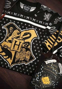 Harry Potter Hogwarts Ugly Christmas Sweater Alt 1