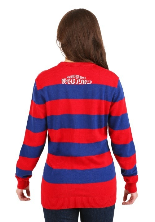 My Hero Academia Striped Sweater Alt 1