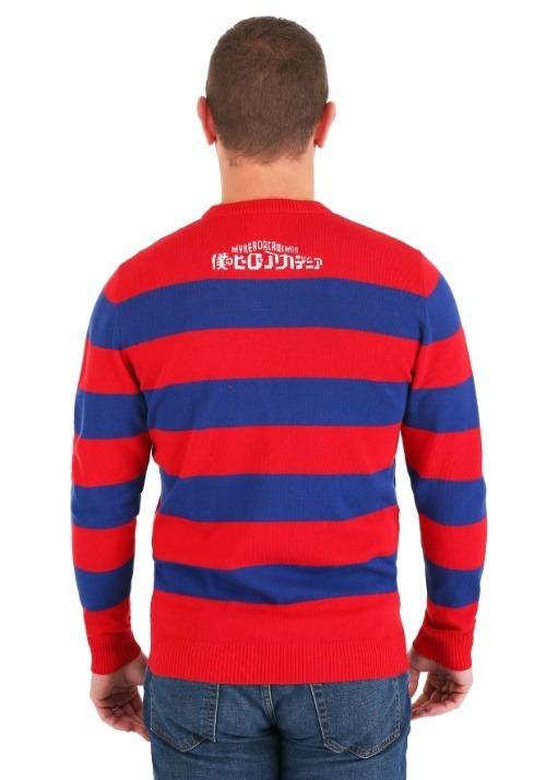 My Hero Academia Striped Sweater Alt 3