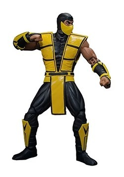 Mortal Kombat 3 Scorpion Storm Collectibles 1/12 Scale Actio