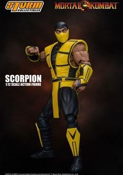 Mortal Kombat 3 Scorpion Storm Collectibles 1/12 Scale Actio