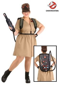 Ghostbusters Plus Size Women's Costume Dress