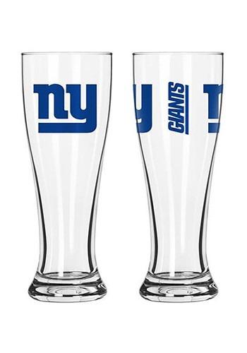 New York Giants 16oz Pilsner 2 Pack