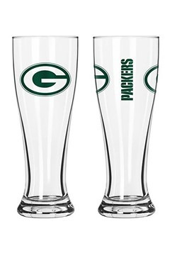 Green Bay Packers 16oz Pilsner 2 Pack