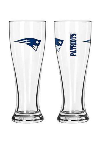 New England Patriots 16oz Pilsner 2 Pack