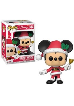 Pop! Disney: Holiday- Mickey Mouse