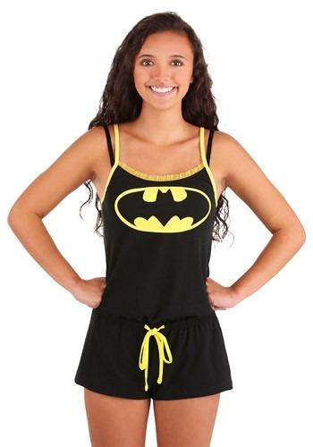 Batman Glow Sleep Romper