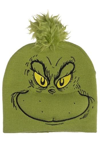 The Grinch Big Face Beanie