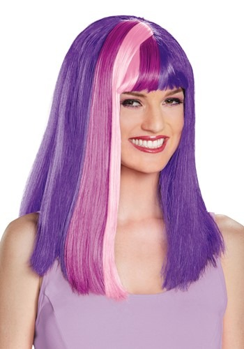 Adult My Little Pony Twilight Sparkle Wig