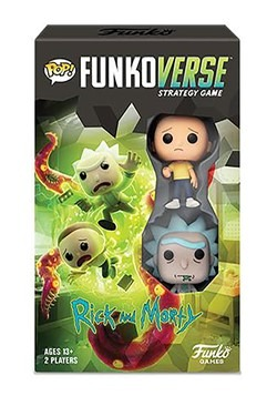 Pop! Funkoverse Rick and Morty- 100- Expandalone Strategy Ga
