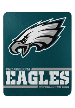 Philadelphia Eagles Split Wide Fleece Throw