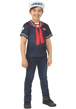 Stranger Things Steve's Scoops Ahoy Uniform Costume for Kids