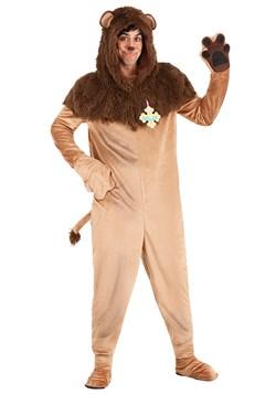 Plus Size Wizard of Oz Cowardly Lion Costume