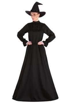 Plus Size Deluxe Harry Potter McGonagall Costume Alt 1