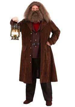 Men's Deluxe Harry Potter Hagrid Costume Back