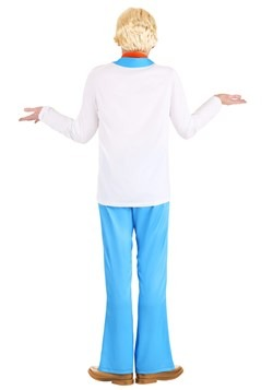 Men's Classic Scooby Doo Fred Costume Back