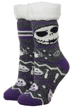 Nightmare Before Christmas Cozy Slipper Socks