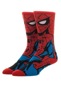 Marvel Spider-Man 360 Crew Socks