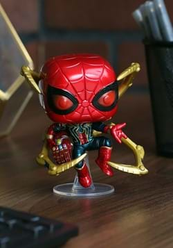 Pop Marvel Endgame Iron Spider w Nano Gauntlet